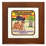 DEA Southwest Asia Framed Tile