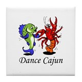 Dance Cajun Tile Coaster