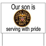 """Son In Navy"" Yard Sign"