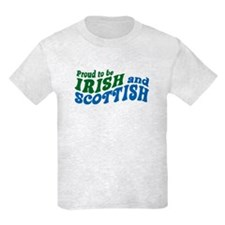 Proud to be Irish and Scottish T-Shirt
