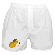 I'm Packin' a Decent Pear Boxer Shorts