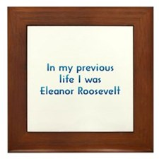 PL Eleanor Roosevelt Framed Tile