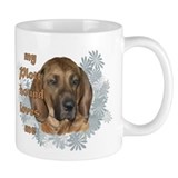 plott hound loves Small Mugs