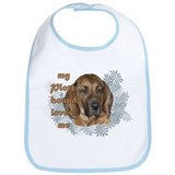 plott hound loves Bib