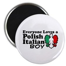 Polish Italian Boy Magnet