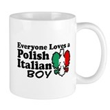 Polish Italian Boy Small Mug
