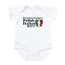 Polish Italian Boy Infant Bodysuit