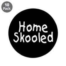 "Homeskooled 3.5"" Button (10 pack)"