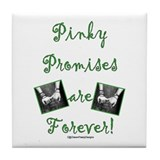 Pinky Promises Tile Coaster