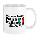 Polish Italian Girl Small Mug