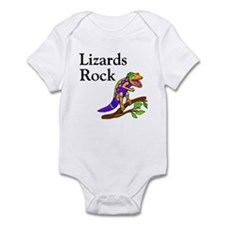 Lizards Rock Infant Bodysuit