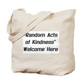 """Acts of Kindness"" Tote Bag"