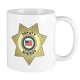 Sheriff Badge Coffee Mug