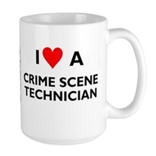 "Large ""I Love A Crime Scene Technician"""
