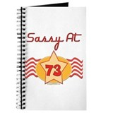 Sassy At 73 Years Journal