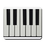 Piano Keyed Mousepad