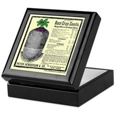 Root Crop Seeds Keepsake Box