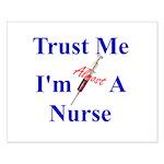 Trust Me ....Nurse Small Poster
