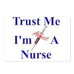 Trust Me ....Nurse Postcards (Package of 8)