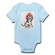 Fireman's Dalmation Infant Creeper