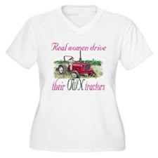 Real Women/Tractors T-Shirt