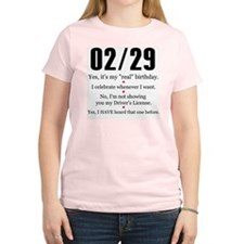 02/29 Answers T-Shirt