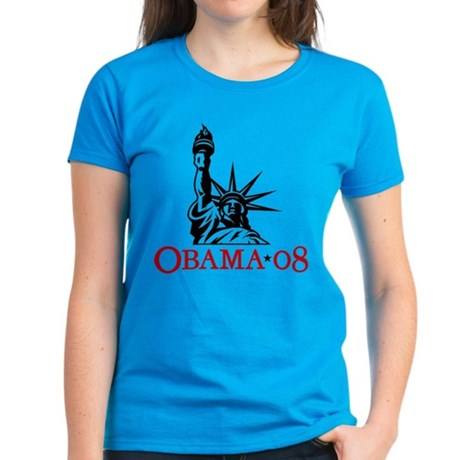 Womens Crockett Teal T-Shirt