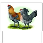 Easter Egg Chickens Yard Sign