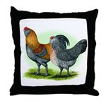 Easter Egg Chickens Throw Pillow