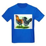 Easter Egg Chickens Kids Dark T-Shirt