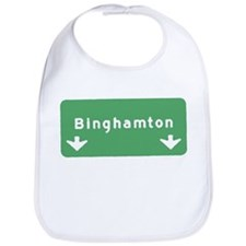 Binghamton Sign T-shirts Bib