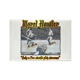 Morel mushroom handler gifts and t-shirts Rectangl