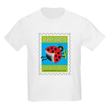 Donor Bug Too Kids Light T-Shirt