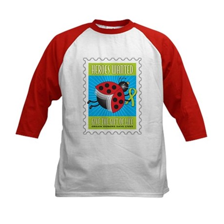 Donor Bug Too Kids Baseball Jersey