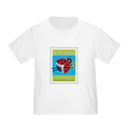 Donor Bug Too Toddler T-Shirt
