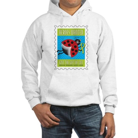 Donor Bug Too Hooded Sweatshirt