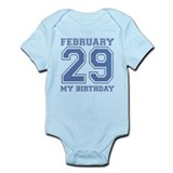 Varsity 29 Birthday Infant Bodysuit