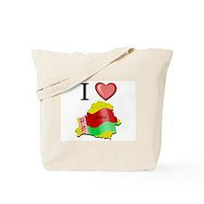 I Love Belarus Tote Bag
