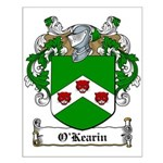 O'Kearin Family Crest Small Poster