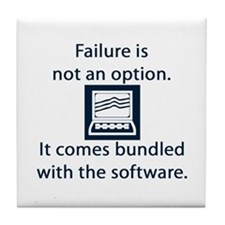 Failure Tile Coaster