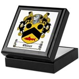 Oliver Family Crest Keepsake Box