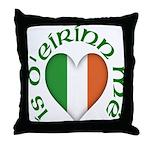 'I Am of Ireland' (Heart) Throw Pillow