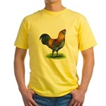 Easter Egg Rooster Yellow T-Shirt