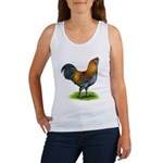 Easter Egg Rooster Women's Tank Top