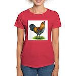 Easter Egg Rooster Women's Dark T-Shirt
