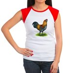 Easter Egg Rooster Women's Cap Sleeve T-Shirt