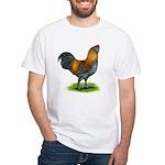 Easter Egg Rooster White T-Shirt