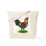 Easter Egg Rooster Tote Bag
