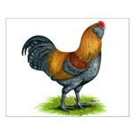 Easter Egg Rooster Small Poster