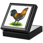 Easter Egg Rooster Keepsake Box